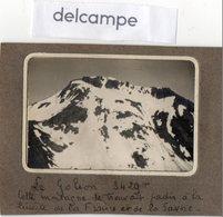 Photo Ancienne -  Le  Goléon  3429m - Cette Montagne Se Trouvait Jadis à La Limite De La France Et De La Savoie. - Orte