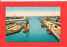 59 DUNKERQUE Cpa Bateau L ' Entrée Du Port       15 EC - Dunkerque