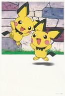 3 Cartoline Postali Giapponese Viaggiate -   Pokèmon - Bandes Dessinées