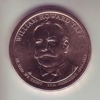 Stati Uniti 2013 - 1 Dollaro Taft - Zecca D - 2007-…: Presidents