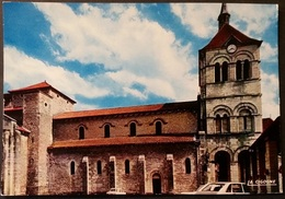 Ak Frankreich - Ebreuil - Kirche,church,Eglise - Saint Leger - Kirchen U. Kathedralen