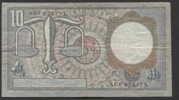 Netherlands 10 Gulden, 23-3-1953  -  ACF 072173 - See The 2 Scans For Condition.(Originalscan ) - [2] 1815-… : Koninkrijk Der Verenigde Nederlanden