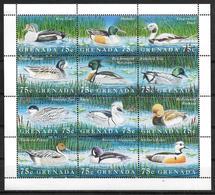GRENADE Feuillet  N° 3316/27  * *   ( Cote 12e ) Canards Asiatiques - Canards