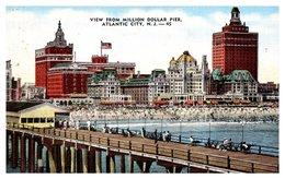Etats Unis - Atlantic City - View From Millon Dollar Pier - Atlantic City