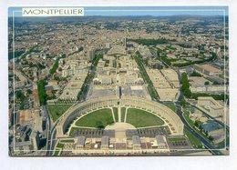 CP 34 MONTPELLIER VUE AERIENNE Au Premier Plan Antigone ... REF 090519 - France