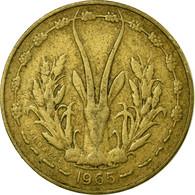 Monnaie, West African States, 5 Francs, 1965, Paris, TB+ - Ivory Coast
