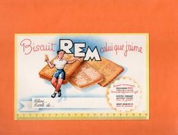 BUVARD. REIMS (MARNE). BISCUIT  REM.   Achat Immédiat - Cake & Candy