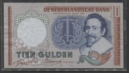 Netherlands 10 Gulden, 23-3-1953  -  DZY 068273 UNC- - See The 2 Scans For Condition.(Originalscan ) - [2] 1815-… : Koninkrijk Der Verenigde Nederlanden