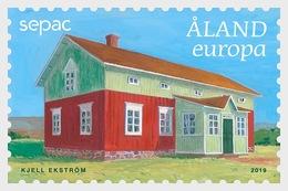 H01 Aland Islands 2019  Europa 2019 - Old Residental Buildings  MNH Postfrisch - Ålandinseln
