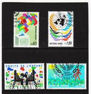 SRO450 UNO GENF 1991 MICHL 200/03 Gestempelt Siehe ABBILDUNG - Genf - Büro Der Vereinten Nationen