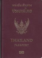 Passport. Passeport, Reisepass, Paspoort Thailand 2012 - Historical Documents