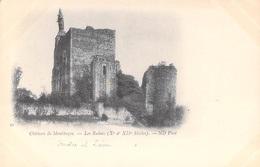 37] Indre Et Loire- Château De MONTBAZON Les Ruines Xe ET XIIe S.(1)  Cpa DOS SIMPLE Collection ND Phot  N° 30*PRIX FIXE - Montbazon