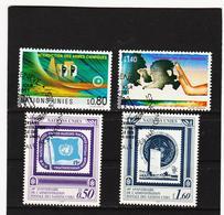 SRO451 UNO GENF 1991 MICHL 204/07 Gestempelt Siehe ABBILDUNG - Genf - Büro Der Vereinten Nationen