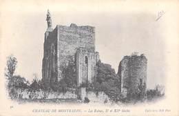 37] Indre Et Loire- Château De MONTBAZON Les Ruines Xe ET XIIe S.(2)  Cpa DOS SIMPLE Collection ND Phot  N° 30*PRIX FIXE - Montbazon
