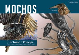 Sao Tome  2015  Fauna Owls - Sao Tome And Principe
