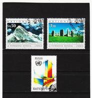 SRO452 UNO GENF 1992 MICHL 210/12 Gestempelt Siehe ABBILDUNG - Genf - Büro Der Vereinten Nationen