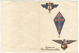 Carte De Vœux Pour L'année 1945 - Old Paper