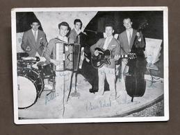 Musica - Fotografia Quintetto Arlecchio Con 4 Autografi - Prandoni - 1957 Ca. - Autografi