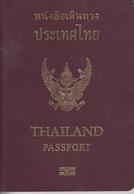Passport, Reisepass, Passeport, Reispas, Paspoort  Thailand 2007 - Historical Documents