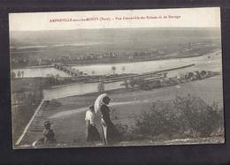 CPA 27 - AMFREVILLE-sous-les-MONTS - Vue D'ensemble Des Ecluses Et Du Barrage - Jolie Vue Générale Du Village - Francia