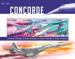Sao Tome  2015 Concorde .airplane - Sao Tome Et Principe