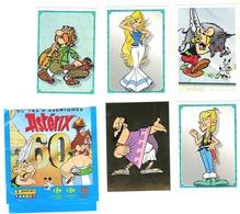 Autocollant Vignette Panini Carrefour Lot De 5 # 6-7-20-22-46  60 Ans D'aventures Astérix - Panini