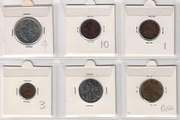 Ethiopia Lot Collection 6 Coins (Empire & Republic) - Etiopia