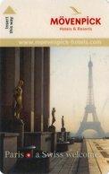 FRANCIA KEY HOTEL  Mövenpick - Hotel Paris Neuilly - Cartes D'hotel