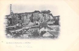 37] Indre Et Loire (canton Vouvray) Les Ruines De ROCHECORBON   Cpa  DOS SIMPLE - Editions  ND Phot 24*PRIX FIXE - Vouvray