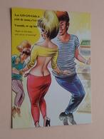 Les GO-GO-Girls à ... Vooruit, Er Op Los ! ( Bamforth / LUX ) Anno 19?? ( Zie / Voir Photo ) ! - Humour