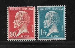 France Timbres  De 1923/26  Types Pasteur  N°178/79  Neufs * Cote 38€ - 1922-26 Pasteur