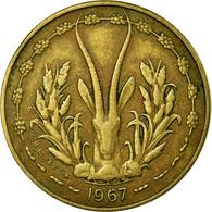 Monnaie, West African States, 5 Francs, 1967, Paris, TTB - Ivory Coast