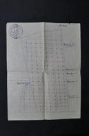 FRANCE - Plan Avec Cachet Du Ministère De L 'Agriculture - Station De Zoologie Agricole De Rouen - L 29019 - Technical Plans
