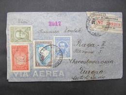 BRIEF Argentina - Praga 1937 // D*38219 - Argentinien