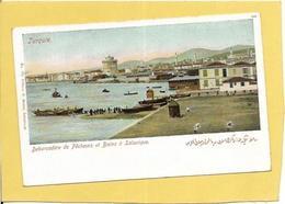 GRECE.  SALONIQUE. DEBARCADERE DE PECHEURS - Grèce