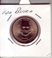 Stati Uniti 2008 - 1 Dollaro Van Buren - Zecca P - Emissioni Federali