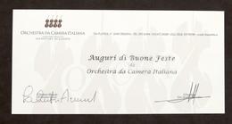 Musica - Autografo Salvatore Accardo E Alessandro Tantardini - Orchestra Cremona - Autografi