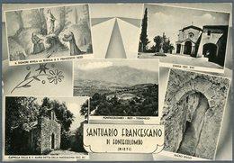 °°° Cartolina N. 56 Santuario Francescano Di Fontecolombo Vedutine Nuova °°° - Rieti