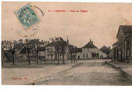 LUSIGNY PLACE DE L EGLISE CHARCUTERIE ANIMEE - France
