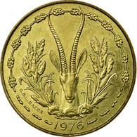 Monnaie, West African States, 10 Francs, 1976, Paris, TTB - Côte-d'Ivoire