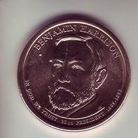 Stati Uniti 2012 - 1 Dollaro B. Harrison - Zecca P - Emissioni Federali