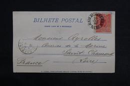 BRÉSIL - Affranchissement De Rio De Janeiro Sur Carte Postale Pour La France En 1904 - L 29026 - Briefe U. Dokumente