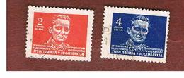 JUGOSLAVIA (YUGOSLAVIA)   - SG 505.509   -    1945  MARSHAL TITO    -   USED - Usati
