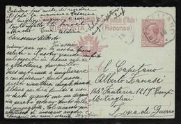 COLLETTORIE RURALI EMILIA - DA CRESPELLANO A ZONA DI GUERRA - 8.6.1918. - 1900-44 Vittorio Emanuele III