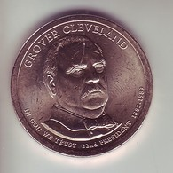 Stati Uniti 2012 - 1 Dollaro Cleveland 1° Mandato - Zecca P - 2007-…: Presidents