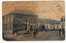 Ilok Glavni Trg Hauptplatz Old Postcard Travelled 1908 B190501 - Croatia