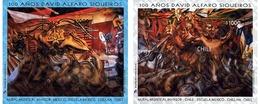 Ref. 204774 * MNH * - CHILE. 1997. PINTURA DE DAVID ALFARO SIQUEIROS - Unclassified
