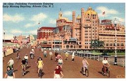 Etats Unis - Atlantic City - Bicycling - Atlantic City