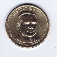 Stati Uniti 2014 - 1 Dollaro Hoover - Zecca P - Emissioni Federali