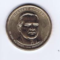 Stati Uniti 2014 - 1 Dollaro Hoover - Zecca D - Emissioni Federali